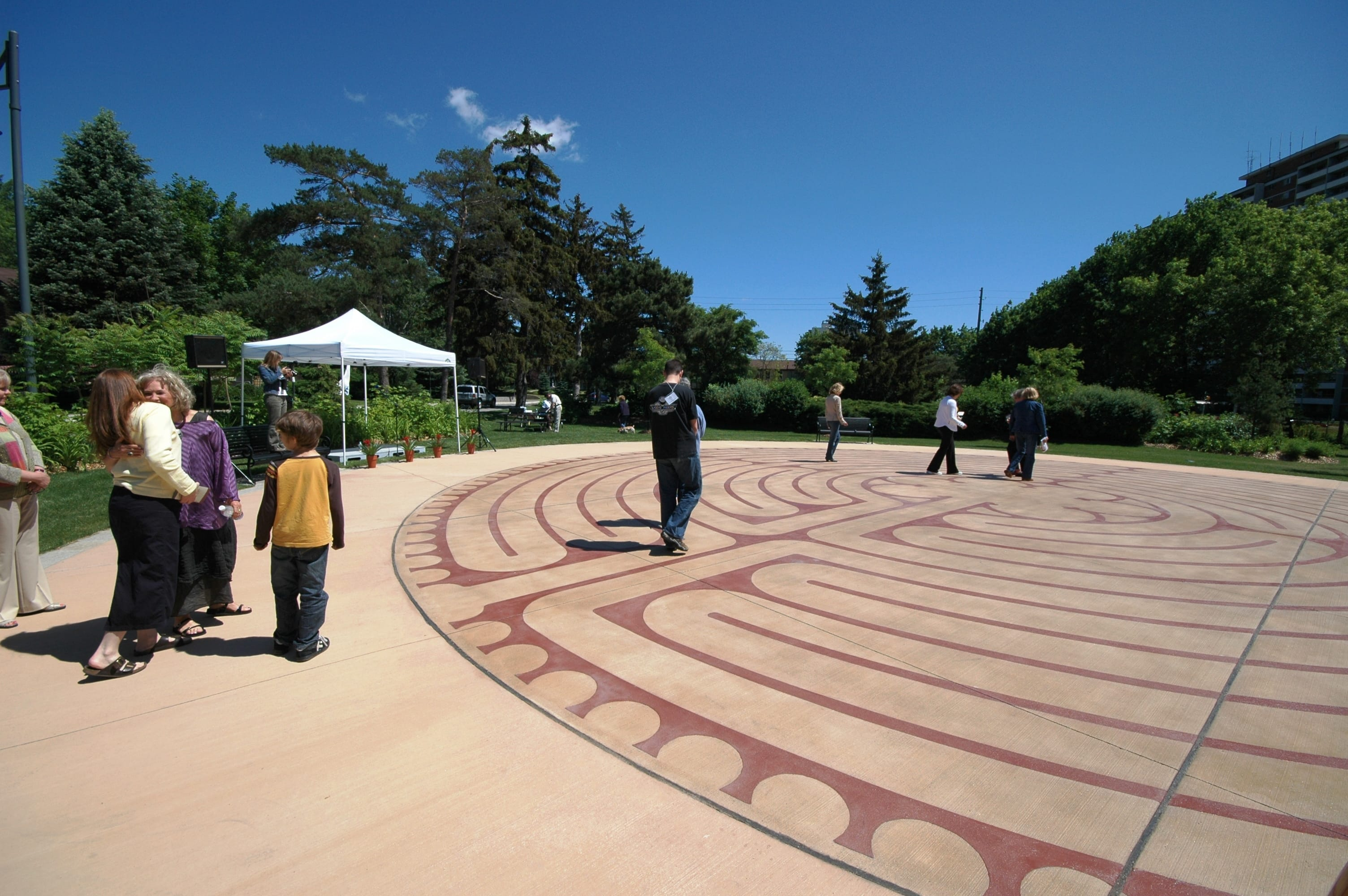 Read more about the article Memories about Burlington Labyrinth – community heritage