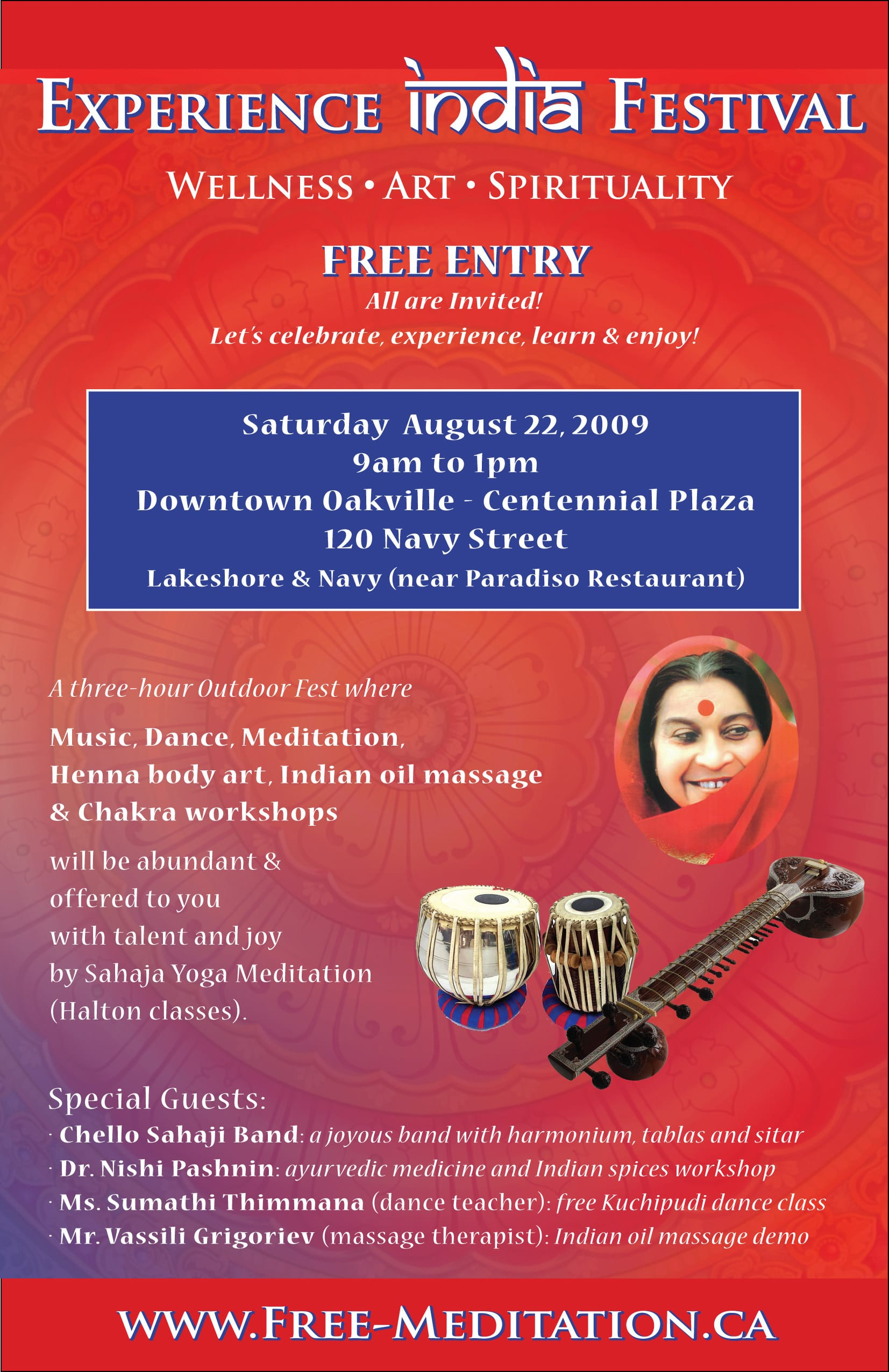 Experience India in Downtown Oakville!