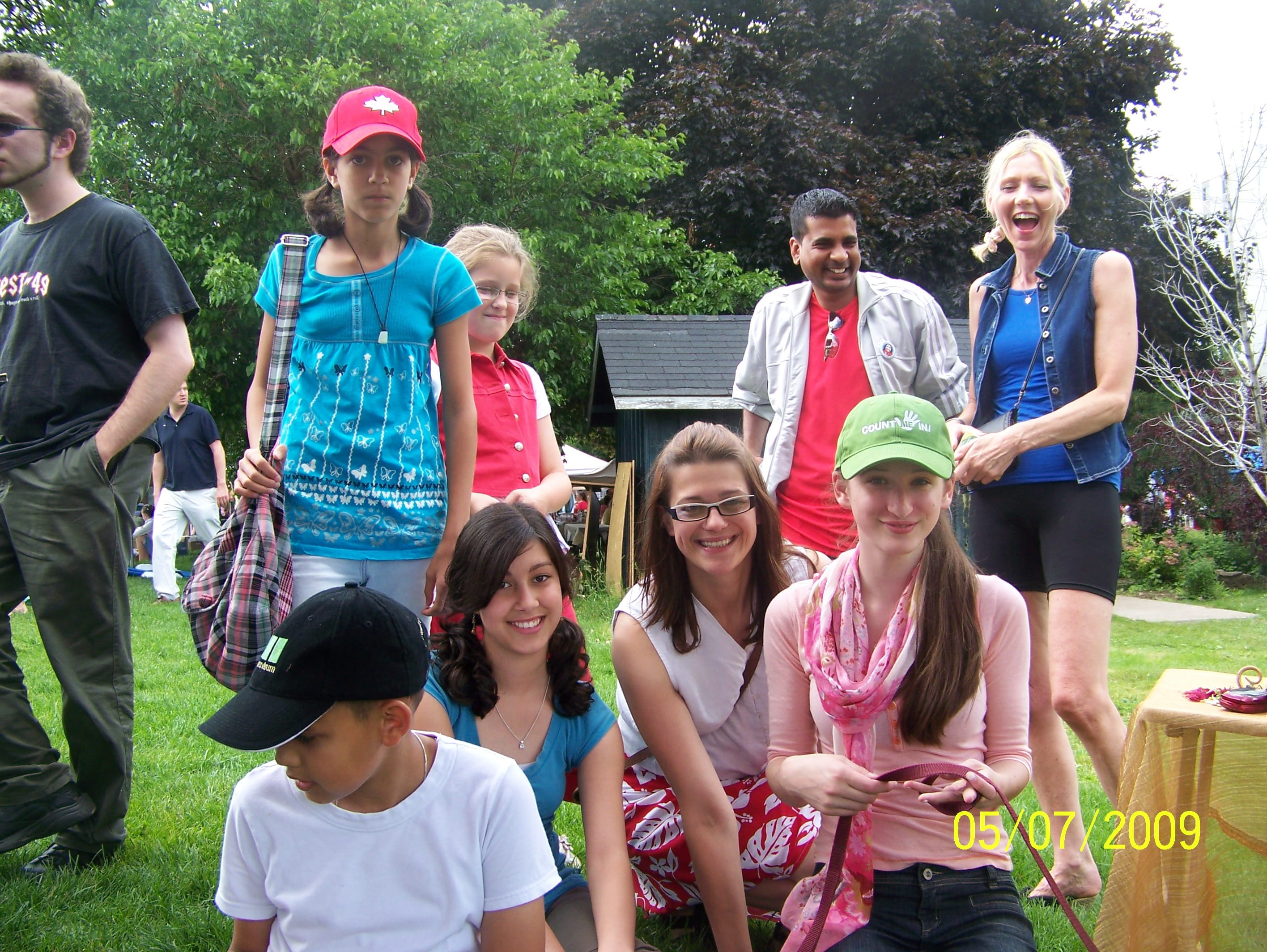No Blank Day on Canada Day in Burlington – Ann's Invitation to a New Birth