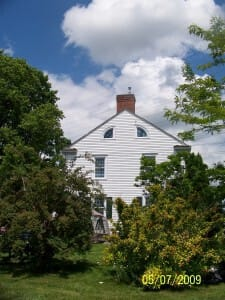 Joseph Brant Museum- side view - Canada Day 2009 -Strawberry festival