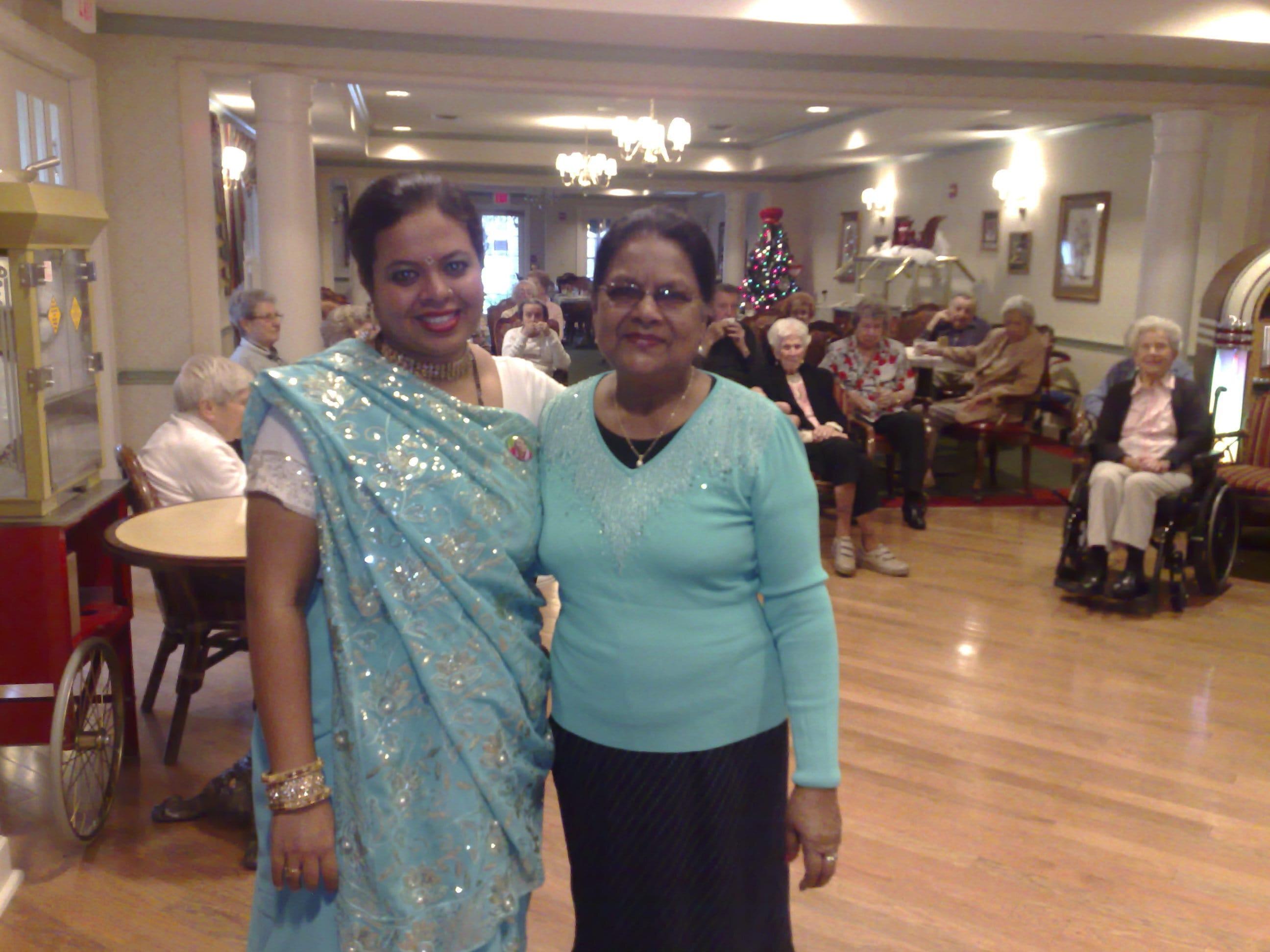 Anandita reconnected with Senior lady that had practised Sahaja Yoga in Montreal many years ago