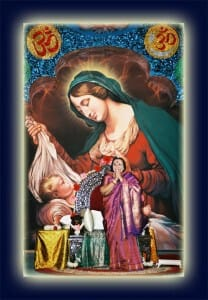 Namaste to Mother Mary and Baby Jesus in our Agnya Chakra – How & Where to make a Cradle for Christ?!