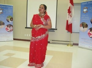 """Day 9 – Oakville, Canada or The World – """"Art & Spirituality"""" with Anandita for Everyone!"""