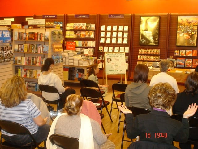 """We Feel it!"" even @ Chapters – New Video based on Testimonials from Etobicoke & Brampton on the Benefits of Meditation"