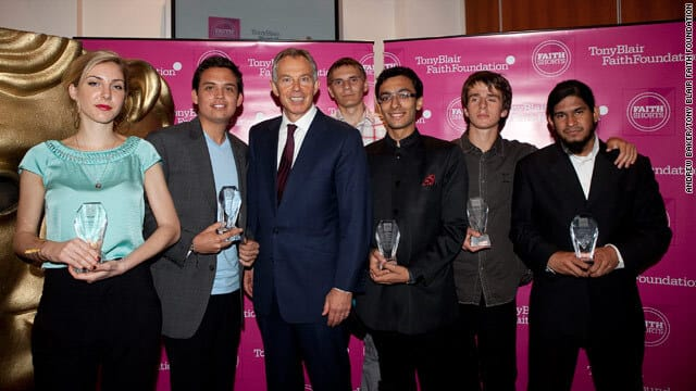 "Silvina Received ""Faith Awards 2010"" – from Tony Blair Foundation for ""Self Realization"" VIDEO"