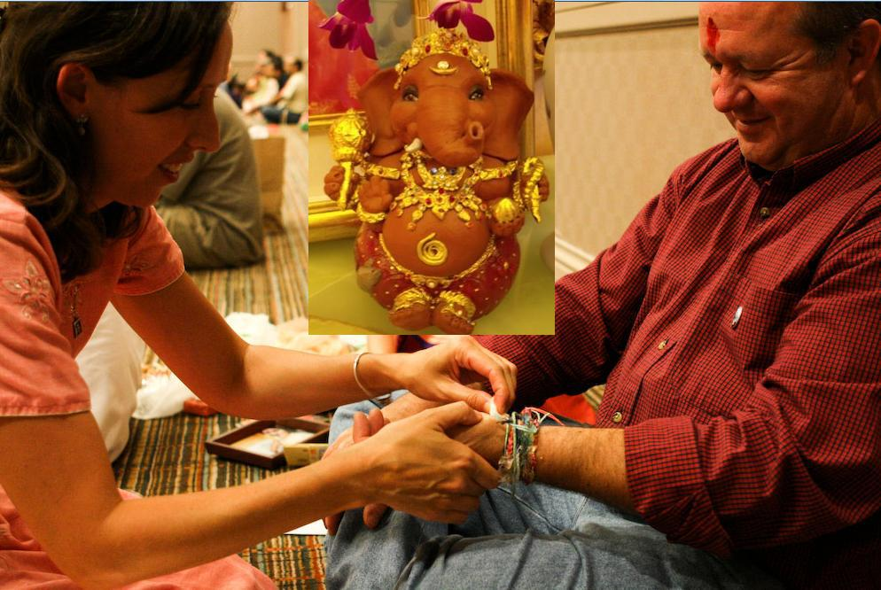 Free Special Event – Music, Meditation, Dandia Sticks Dance & Raksha Bandhan Celebration – Aug 25 @ Burlington Class