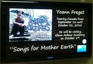 Yoann's Tour @ Glenn Arbour Academy in Burlington