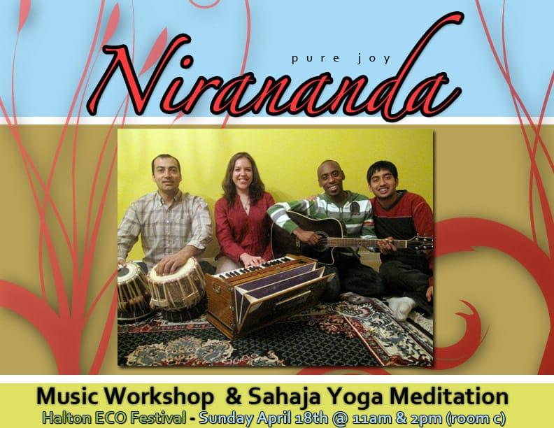 Free Diwali Celebration & 5 years Anniversary of Sahaja Yoga Meditation in Halton with Live Music & Meditation  – Yoann Freget (France) & Nirananda Band (Toronto)