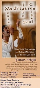 "Missing Yoann Freget?! Kundalini & Meditation within 2 JAZZ VIDEOS from France – Reggae/Soul IMPRO & ""Did not Rain, my Lord!"" in Dec 2010 & SOON Austria & Germany TOURs in 2011"