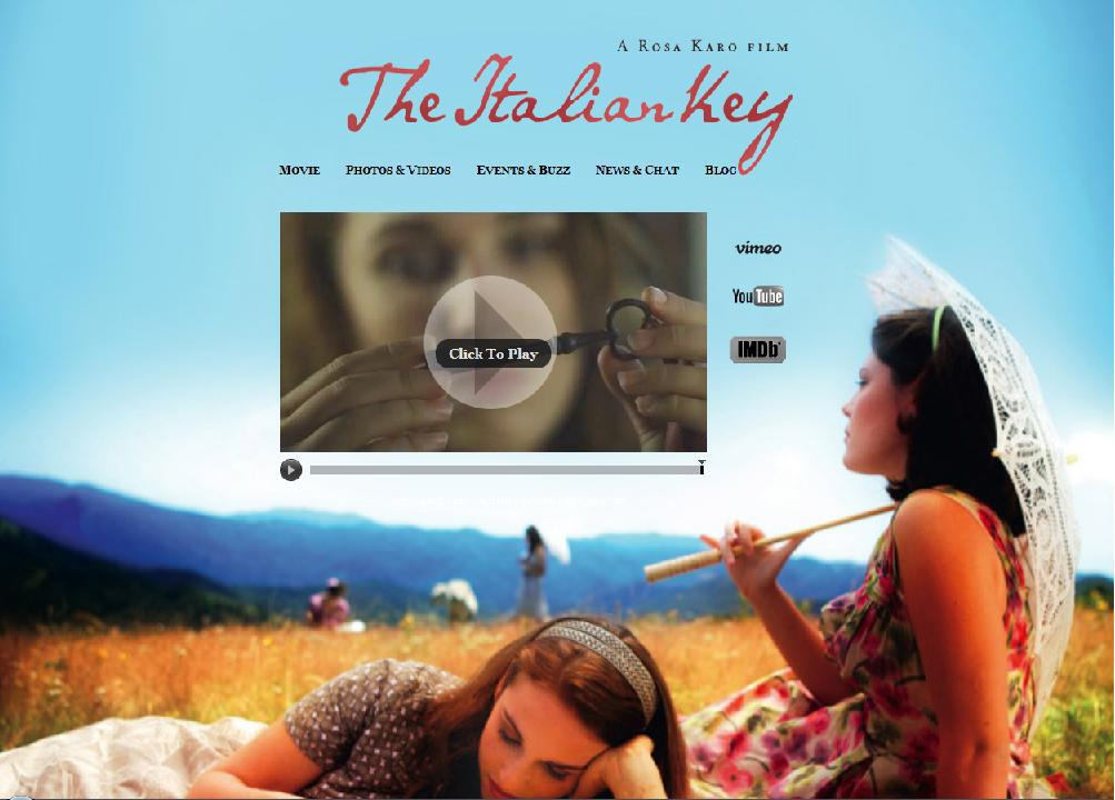 "Movie News! ""The Italian Key"" -made by Yogis! –  won The Feel Good Movie Festival in US, 2011!"