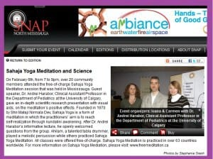 Read more about the article Health Conference with Doctor Andrei SNAP'd in Burlington & Mississauga Magazine! HOW WAS IT?!