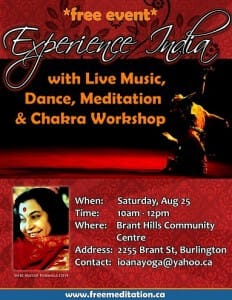 Read more about the article Experience India in Burlington on Sat, Aug 25th @10 AM