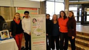 Sahaja Yoga Meditation @ Niagara College's Wellness Fair on Valentine's Day – A Dream coming True, PHOTOS & Experiences