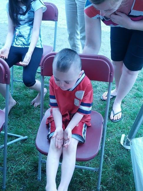 Barrie child still in meditation