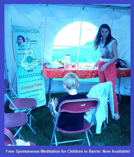 children meditation with Ana Bianca