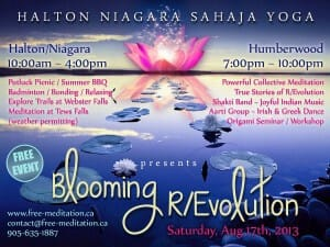"Invite to ""Blooming R/Evolution"" Public Program + Outdoors ""Togetherness"" Seminar : August 17 & 18"