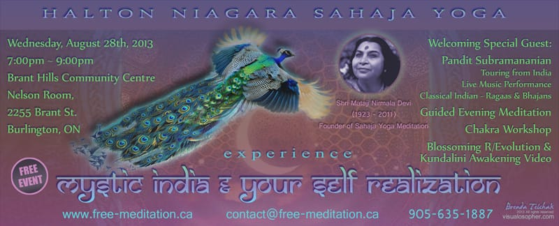 Free Event: Mystic India and Self Realization (Special Guest: Pandit Subramanian)