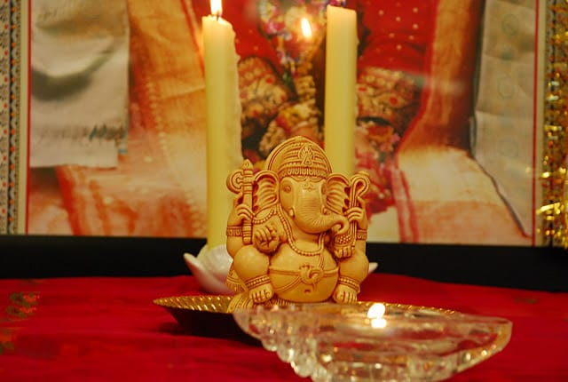 Shri Ganesha - meditation during Togetherness weekend at Niagara Falls 2011