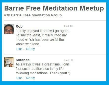 Feedback 1- barrie class on meetup
