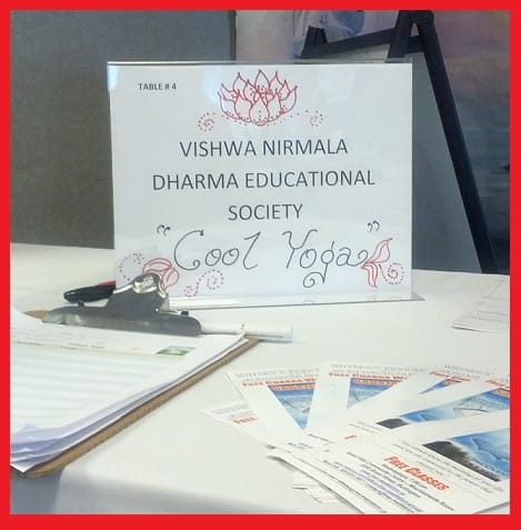 Vishwa Nirmala Dharma Educational Society - The Cool Sahaja Yoga Meditation at TECH DATA CORPORATION - WELLNESS FAIR 2013