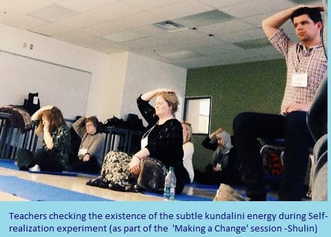 Last Part- - the verification of the subtle Kundalini energy during the self realization