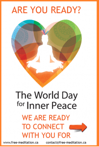 Read more about the article List with Celebrations of The World Inner Peace Day in Ontario, 2014