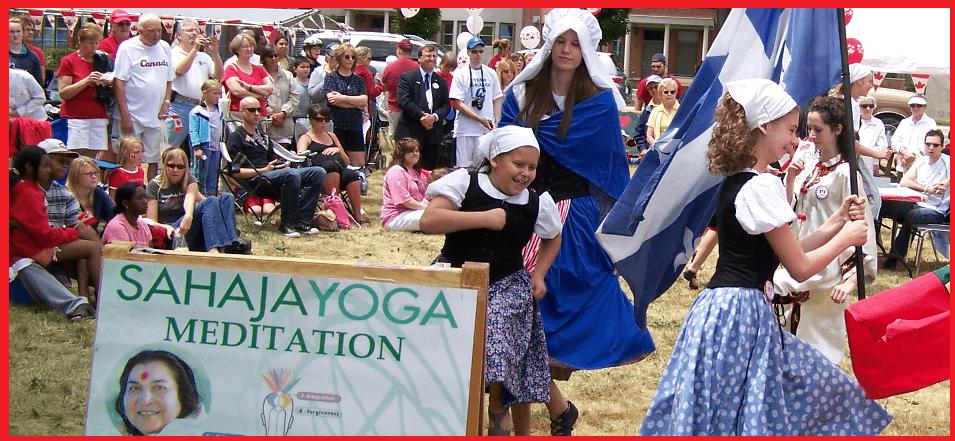 Sahaja Yoga meditation during Canada Dy Celebration in Burlington -2008