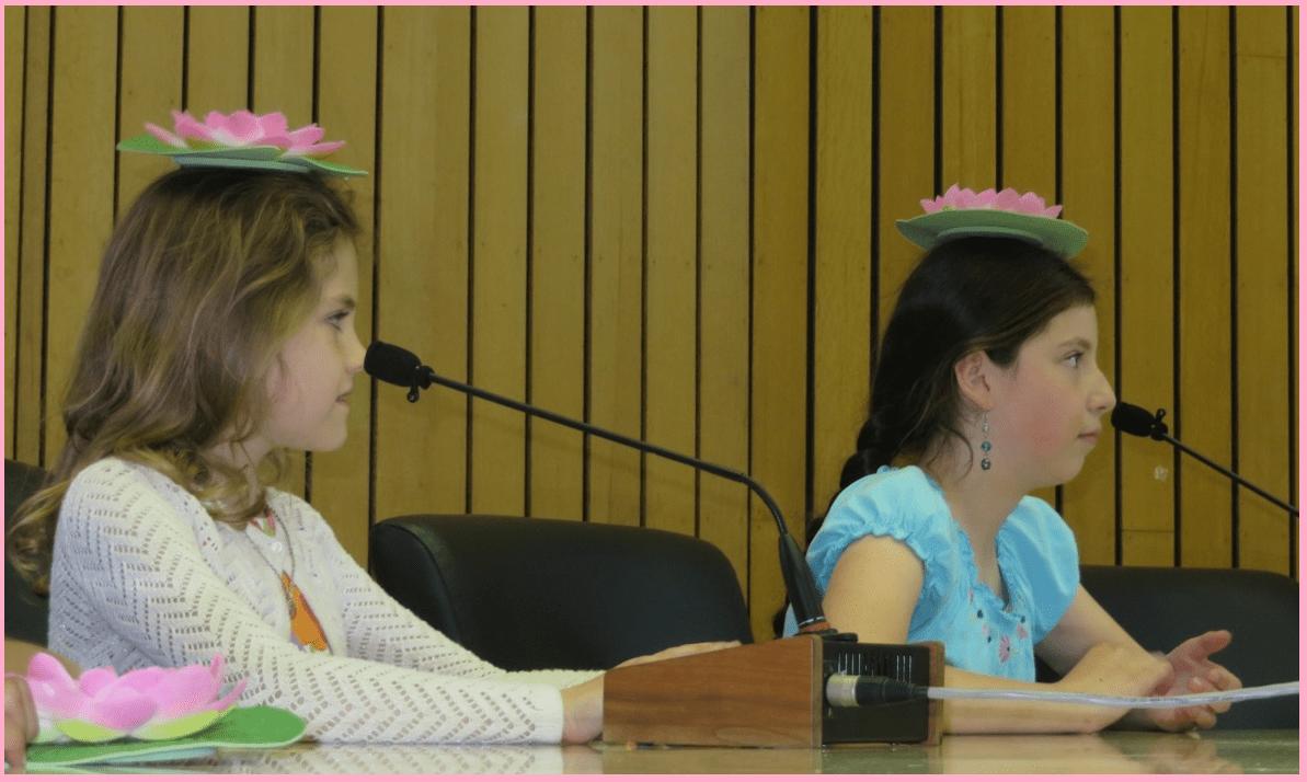Demi and Katya - Grade 1-4 meditators