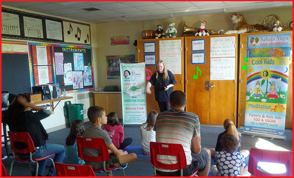 Meditation class led by our Youth Team - Sahaja Yoga Meditation -Halton