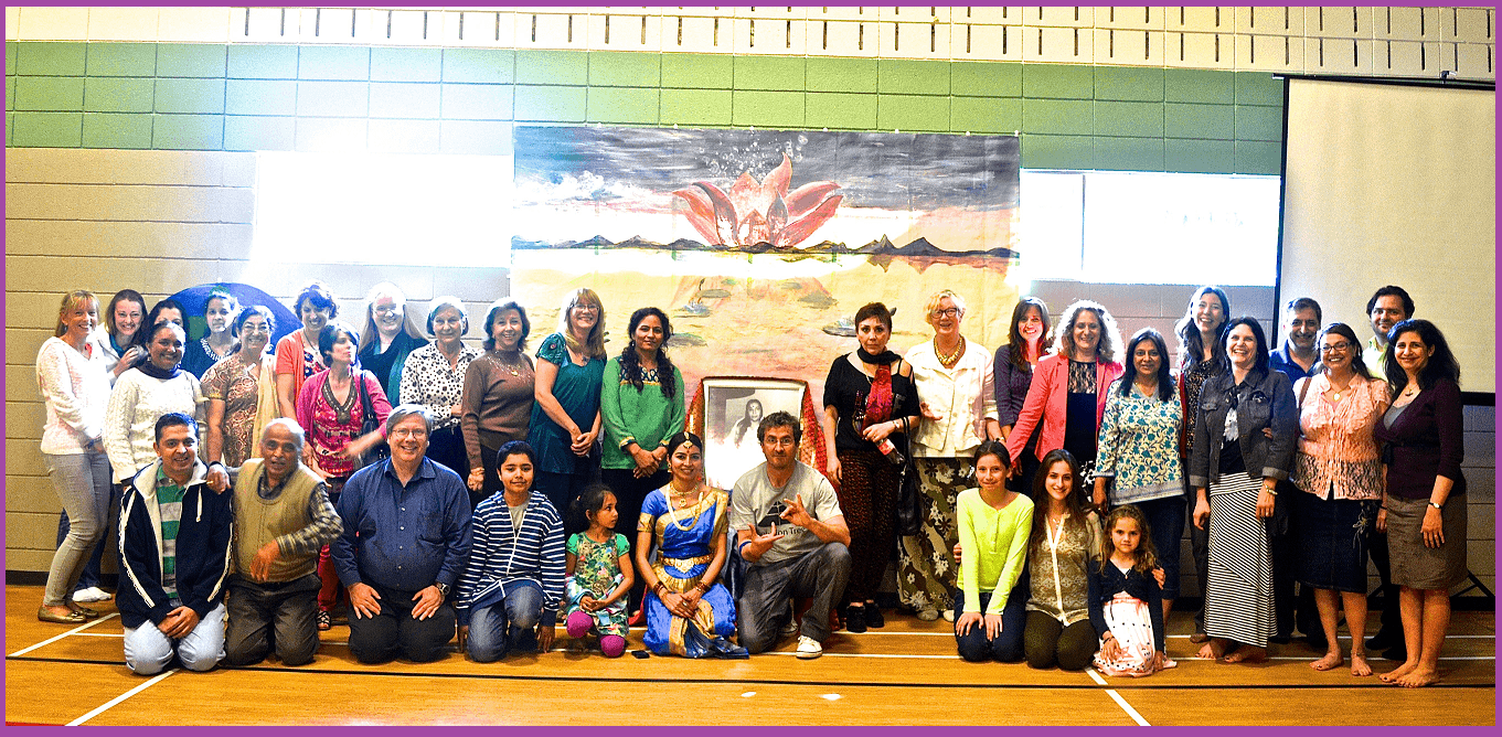 Sahaj Family Photo - May 24 2014 - public program  Bridging Science and Spirituality