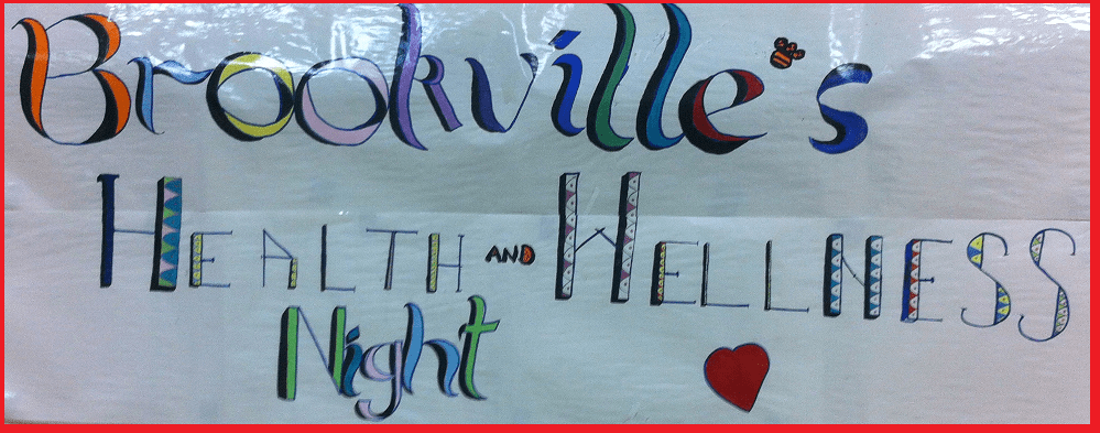 (photos/story) Students & Parents Meditate in Campbellville! Sahaja Yoga Meditation INVITED @ Brookville's 1st Health and Wellness Night