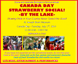 Sahaja Yoga Meditation @ Strawberry Festival by the Lake on Canada Day