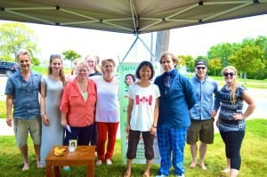 (music video with World Renown Burlington Band) Sahaja Yoga on Canada Day – 'Burlington Teen Tour Band'