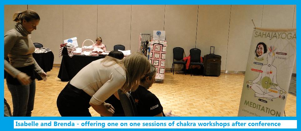 Sahaja Yoga meditation -chakra workshop