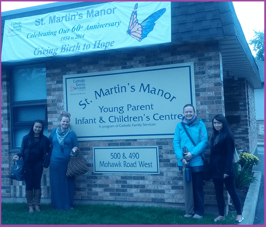 Young Parents Program - Septemebr 30-2104 St Manors -hamilton