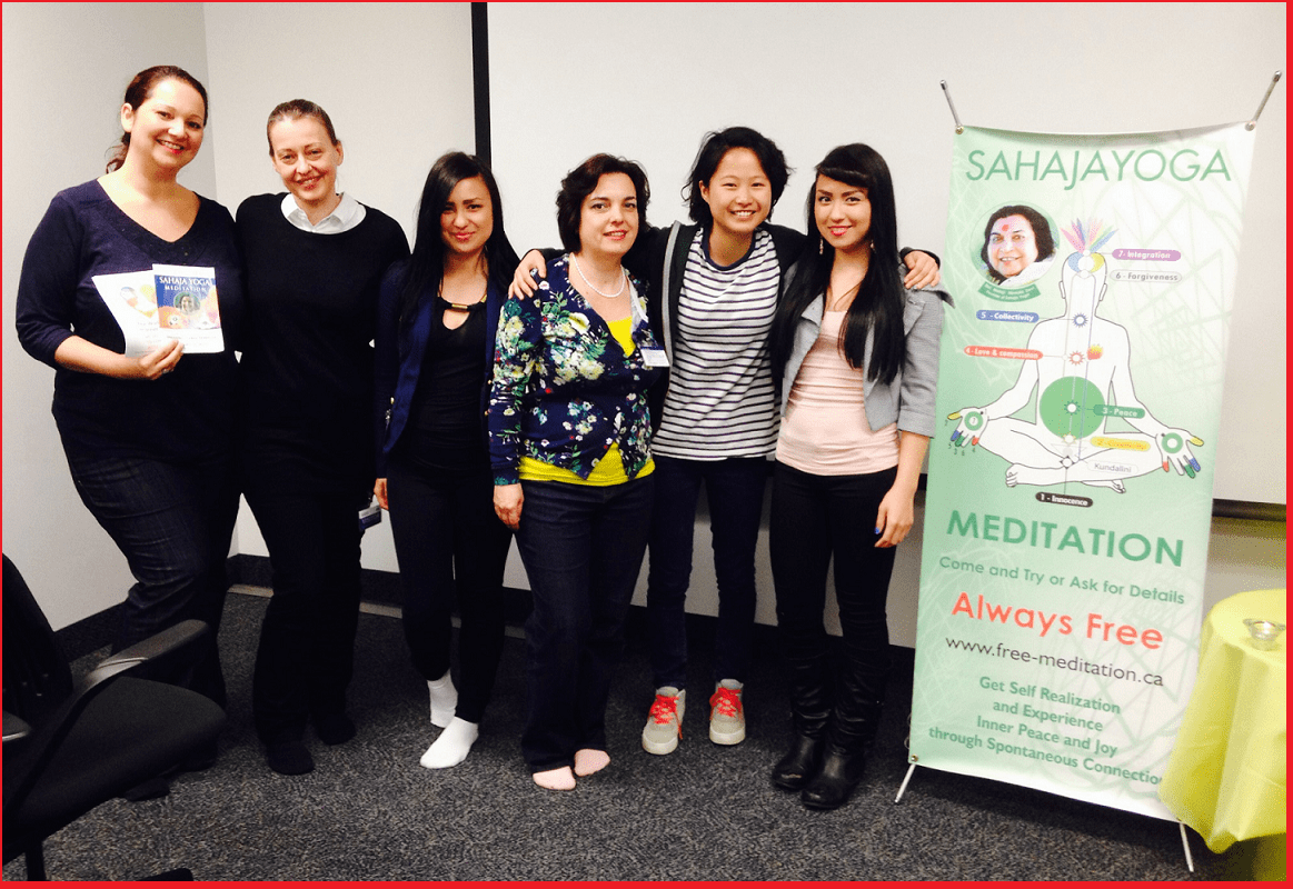 Halton Team for INNER PEACE workshops at BICL - Wellness Day - April 28 1014