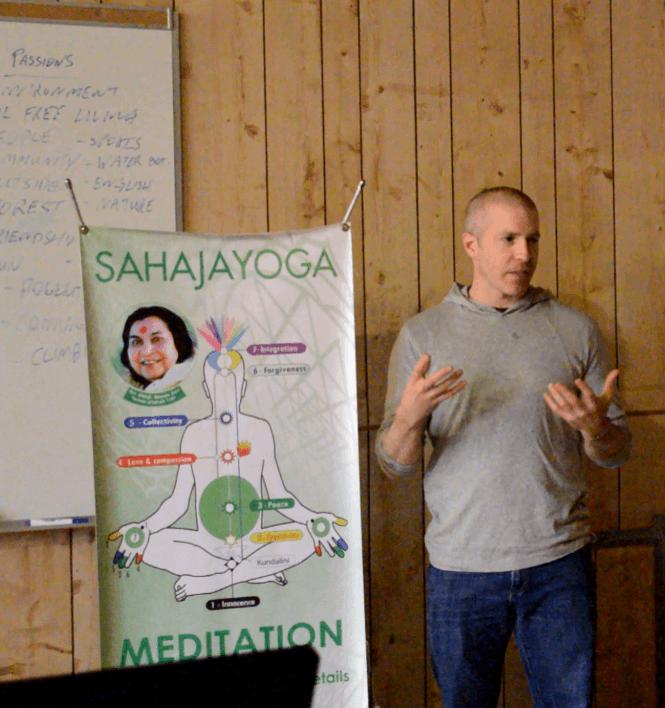 Jon from sahaja yoga meditation
