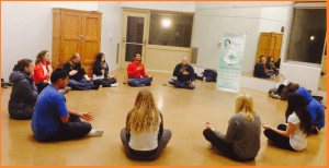 "University of Guelph ""Stressbuster Campaign"": Response from Student Council to ""Inner Peace Workshop"" provided by Volunteer Team from Sahaja Yoga Meditation"