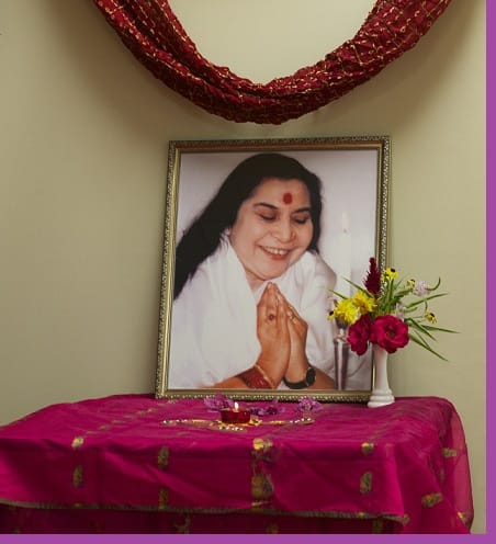 Meditation-Shri Mataji photo