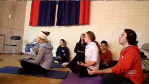 (photos + Thank you letter) Sahaja Yoga Meditation contributes to 2014 Empowering Youth Conference with Motivational Speakers + Inner-Peace Meditation volunteer team (!)