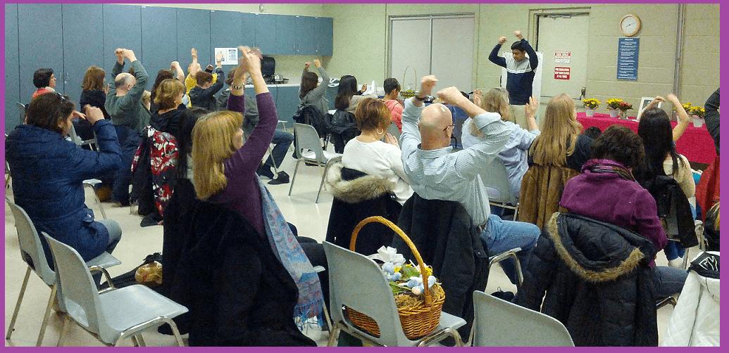 Join us for an always wonderful Burlington Sahaja Yoga meditation Class