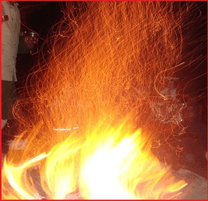 Mythological Fire Creatures (Angels, White Horse, Lightning) in 'Havana' Meditation (with fire element)