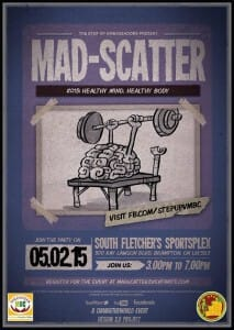 YOUTH Group from  Sahaja Yoga Meditation is Invited to OPEN the MAD-SCATTER on MAY 2 (Youth event in Brampton)