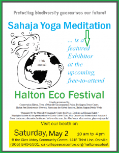 "WE are ""Featured Exhibitor"" @ 15th Annual Halton Eco-Festival (Persian Music + Wellness Workshop)"