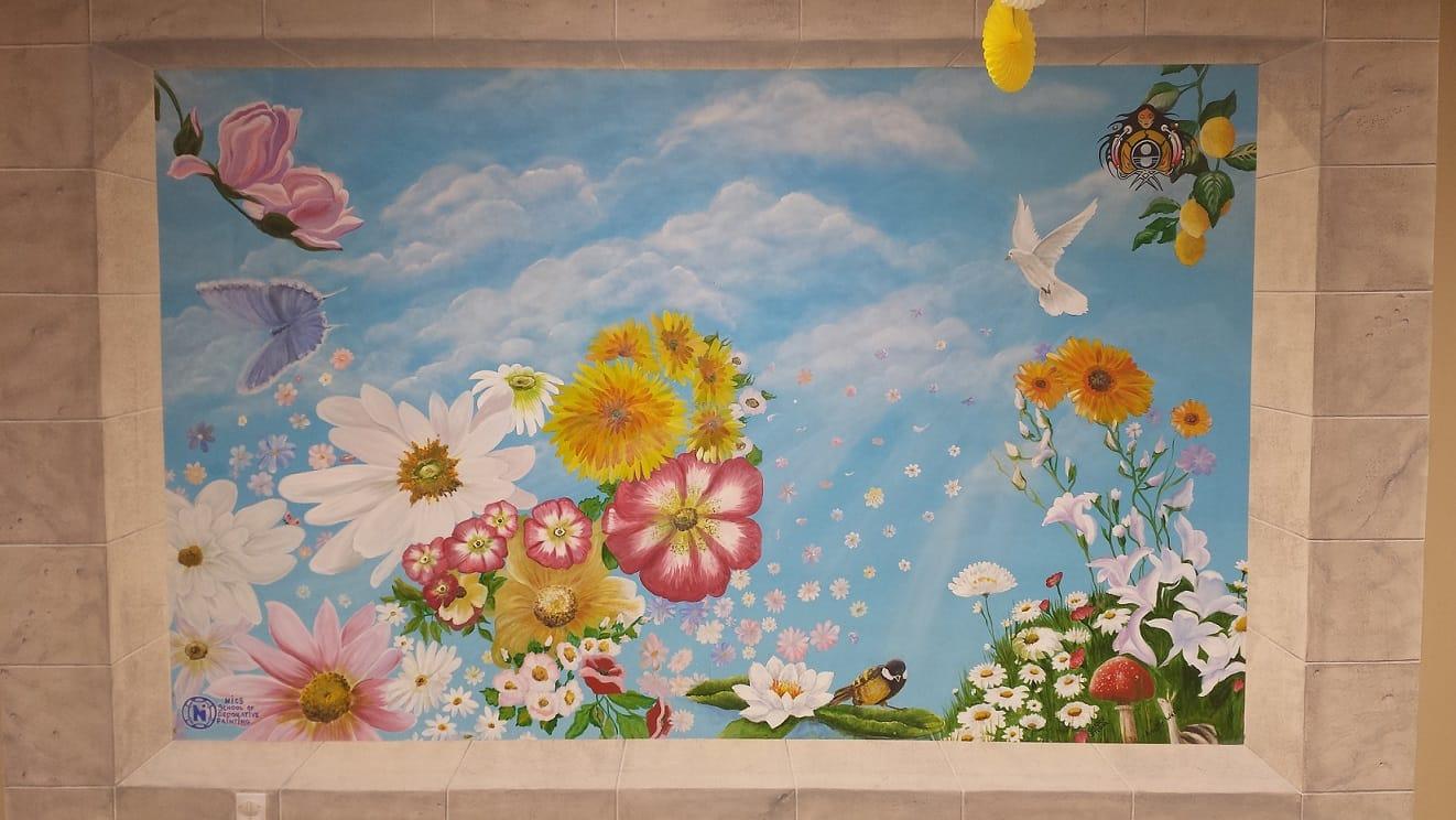Mural at Anduhyaun