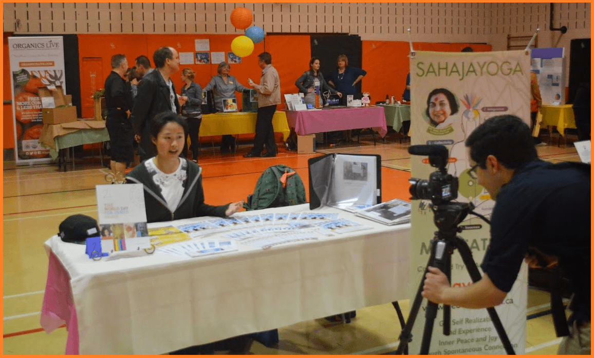 Shulin from Youth Sahaja Yoga -interviewed