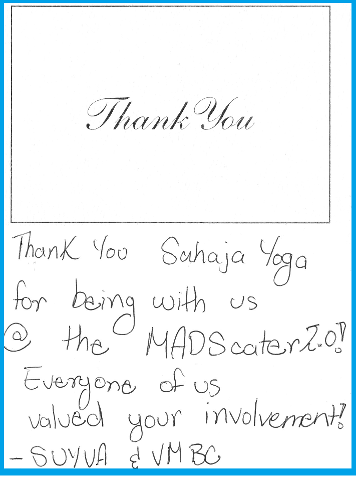 Thank you from MADS Scatter Brampton 2015 YOUTH