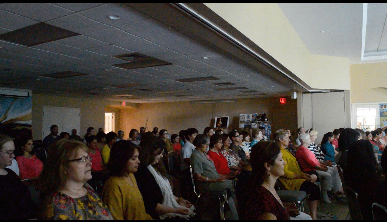 1200 Huskies meditation at Burlington Art Centre