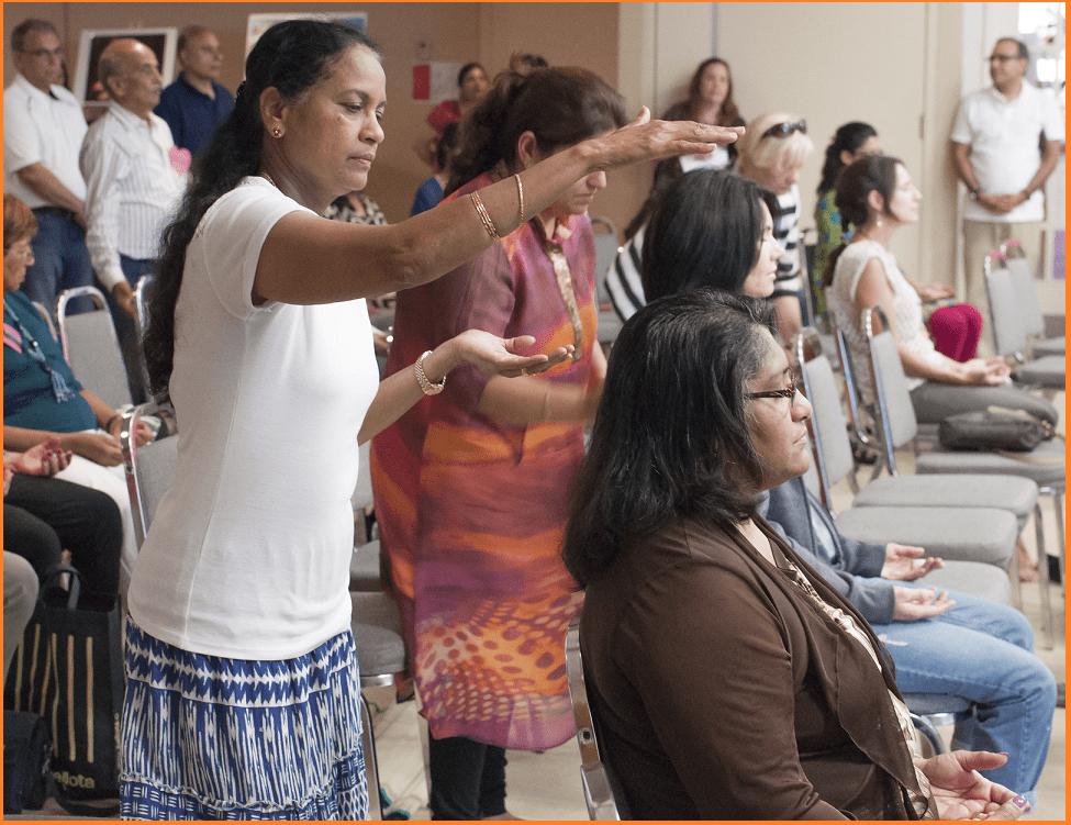 Indu and Sunanda - Chakra workshops