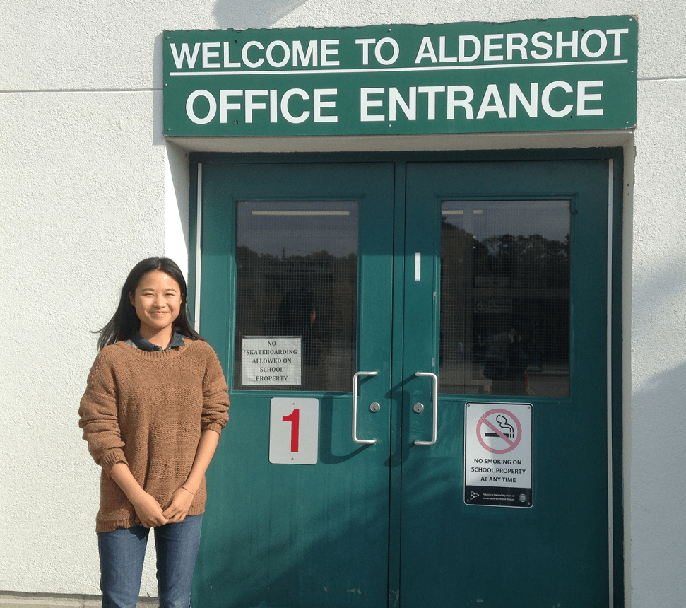 Welcome to Aldershot -Shulin